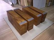 樂舞音響 非洲柚木實木喇叭架 JBL 4343、4430可用(寬8.5x高15x深40公分,四塊)