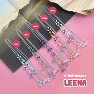 LEENA 2 in 1 Mask Strap Hijab Friendly / face mask connector face mask extender mask accessories mask chain