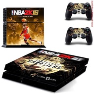 NBA2K16 Michael Jordan &amp  Lebron james Skin Sticker Cover Decal  For PS4 Playstation 4 Console +