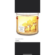 bath and body works candle bath and body works Bath & body works large 3wick candle