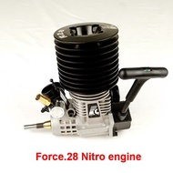 VRX P0016 Force.28 Pull Starter(Rear Exhaust) Nitro engine for 1/8 scale RC Nitro buggy/truggy/truck, fit Nitro power rc car