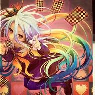 [備份盒] 中盒 美女 公仔 白 SHIRO 遊戲人生 撲克 西洋棋