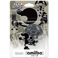 【Nintendo 任天堂】amiibo公仔 GAMEWACH(明星大亂鬥)