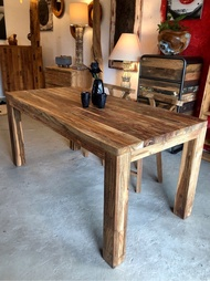 老柚木拼接餐桌 (L160 W80 H75.5 cm)