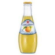 S.Pellegrino 聖沛黎洛氣泡水果水(葡萄柚口味)200mlX24瓶X箱(玻璃瓶)