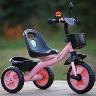 Kanak-Kanak Kanak-Kanak Basikal Roda Tiga1-5Tahun Bayi Pedal Basikal Budak Perempuan Basikal Boleh Menunggang Boleh Ditolak