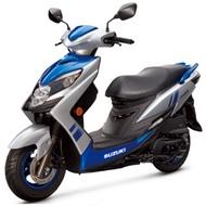 Suzuki 台鈴 SWISH 125 (升級Moto Gp帽)