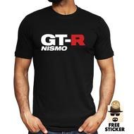 T卹T卹型號Logo gtr Nissan Logo JDM 100%男式純棉材料