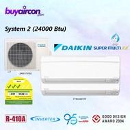 Daikin System 2 Inverter Aircon - 24000 Btu - 3MKS71FSG