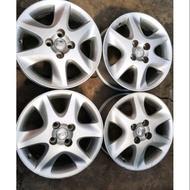 豐田汽車 Toyota Altis 15吋原廠鋁圈加輪胎 195 60 15 4孔100