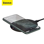 Baseus 15W Qi Wireless Charging Charger for iphone11 11Pro Samsung Note 10 10P S10 S9 Super thin Wireless Fast Charger For Airpods Pro HuaWei P30 XiaoMi