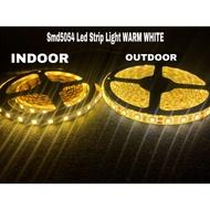 warm white 12v - 220v smd5054 Led Strip Light 5METERS for ceiling cove lighting