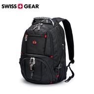 瑞士【SWISSGEAR】瑞士軍刀 SG-03大尺寸17吋  雙肩包 USB 時尚 筆電  後背包 禮物 電競
