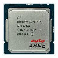 Intel Core I7 10700K I7 10700K 3.8 GHz Eight Core 16ด้ายเครื่องประมวลผลซีพียู L2-2M L3-16M 125W LGA 1200