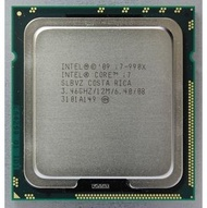 【含稅】Intel Core i7-990X Extreme Edition Processor 3.46G 12M B1 SLBVZ 1366 6核12線 130W 正式CPU  一年保