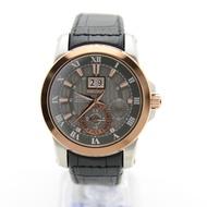 Seiko SNP114P2 Premier Kinetic Perpetual Calendar Leather Mens Watch