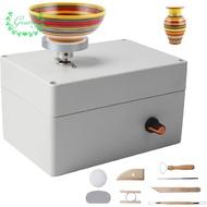 Ready stock  Pottery Wheel Machine, USB Pottery Making Kit