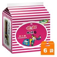 統一麵 肉燥風味 特大號 85g (5入)x6袋/箱【康鄰超市】