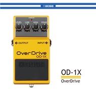 【非凡樂器】BOSS OverDrive OD-1X 【OD1X單顆破音效果器】【贈短導線】