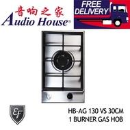 EF HB-AG 130 VS 30CM 1 BURNER GAS HOB