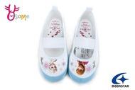 Moonstar 月星 室內鞋 冰雪奇緣聯名款{日本製造} 幼兒園室內鞋F9659#藍白 奧森
