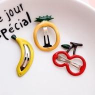 ✐預購✐可愛水果油滴迷你髮夾