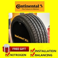 Continental MaxContact MC6 tyre tayar tire(With Installation)205/45R17 215/45R17 225/45R17 235/45R17 245/45R17 215/50R17 225/50R17 215/55R17 225/55R17 225/45R18 225/50R18 235/50R18 235/55R18 225/40R18 235/40R18 245/40R18 215/45R18 235/45R18 245/45R18