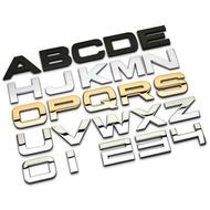 AUDI BENZ BMW LEXUS VOLVO VW 賓士 奧迪 福斯 萬用 貼標 車標 字母標 字標 車貼
