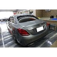 賓士 Mercedes-Benz C-Class W205 C250 內裝功夫龍 內裝貼膜 前下導流貼膜 側裙貼膜