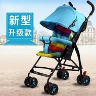 便攜式嬰兒推車超輕便小孩兒童摺疊季手推傘車BB寶簡易天迷你QM『櫻花小屋』