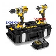 得偉 DEWALT 得偉 20V 衝擊式起子 充電電鑽 雙機組 DCK295P2 (DCF887N+DCD995N)