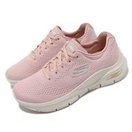 Skechers 慢跑鞋 Arch Fit-Big Appeal 女鞋 專利鞋墊 郊遊 健走 回彈 避震 舒壓 粉 米 149057LTPK