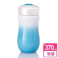 【乾唐軒活瓷】甜心隨身杯 / 白藍 / 中 / 單層