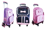 กระเป๋าเดินทางหรือกระเป๋านักเรียน V.23 ล้อลาก 6 ล้อ + กระเป๋าเล็ก