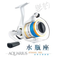 樂釣網路釣具 | 寶熊okuma 水瓶座 AQUARIUS 紡車式捲線器 (附日本PE線) 免運/可議