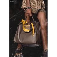 芬迪 fendi公文包 全皮大容量休閒商務手提包單肩包斜挎側背包 大號 PEEKABOO X-LITE FIT系列手提袋