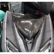 雷霆S150/125碳纖維小盾貼片 卡夢大盾小蓋 面板貼片 超服貼密合 頂極杜雅精油 正3K日本碳纖維 高光澤 紋路清晰