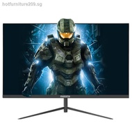 Malata 24-inch ultra-thin curved high-definition computer monitor office home Internet cafe desktop IPS4 screen gaming game HDMI LCD 144HZ borderless monitoring non-second-hand