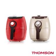 【THOMSON】市場最輕 無油料理 馬卡龍氣炸鍋 (外鍋3.5L 大容量)