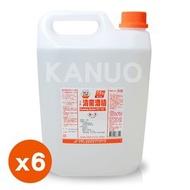 【生發】清菌酒精75% (4公升/桶) x 6桶 (乙類成藥)