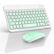echargeable Bluetooth Keyboard and Mouse for iPad,Bluetooth Keyboard Mouse Combo for ipad/Mini/iPad 10.2 / iPad Pro/iPad