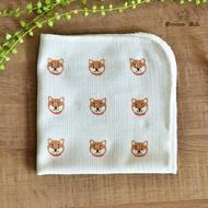 日本製 柴犬純棉食器擦拭布 家事布 抹布
