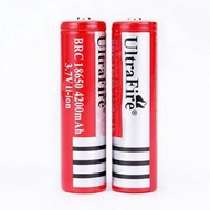 UltraFire 3.7V 18650 Rechargeable Battery 4200mah Batteries Li-ion Lithium ion 4.2V Flat Button Top Li-Ion JOC radio flash light torch light LED headlamp RC toy car otg xt60 USB Cables