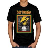 ❤CHO潮男公社❤夏季短袖男純棉T恤到達Bad Brains Bad Brains Lightning Strike純棉