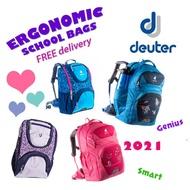 DEUTER 2021 ERGONOMIC School Bags Backpacks for Children