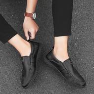 AMANDAD STORES รองเท้าไม่มีส้นของผู้ชายรองเท้าคัชชูชายรองเท้าหนังชายรองเท้าคัชชู ผช