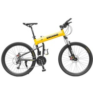 ✾♠German EROADE folding bicycle men s mountain bike off-road 26 inch aluminum alloy racing 24 female variable speed. XlXA