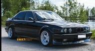 【台灣輪胎王】BMW專用類AC 17吋前後配深唇大凹鋁圈 5X120 9J ET27 / 10J ET27 銀車邊