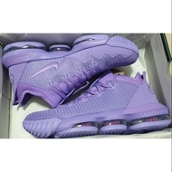 NIKE LEBRON 16 LOW LBJ Pastel Purple 紫  17 jordan 34 US 9.5