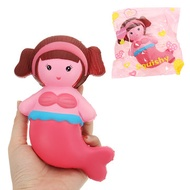Mermaid Squishy 16*9CM Slow Rising With Packaging Collection Gift Soft Toy